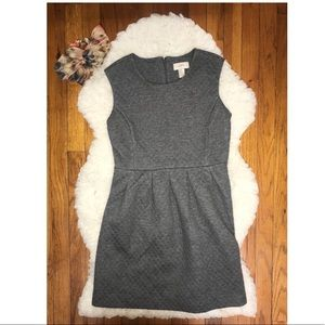 Women's The Loft Grey A line Dress